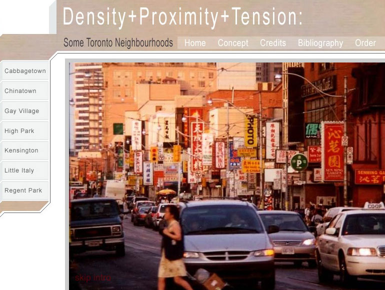 DensityProximityTension